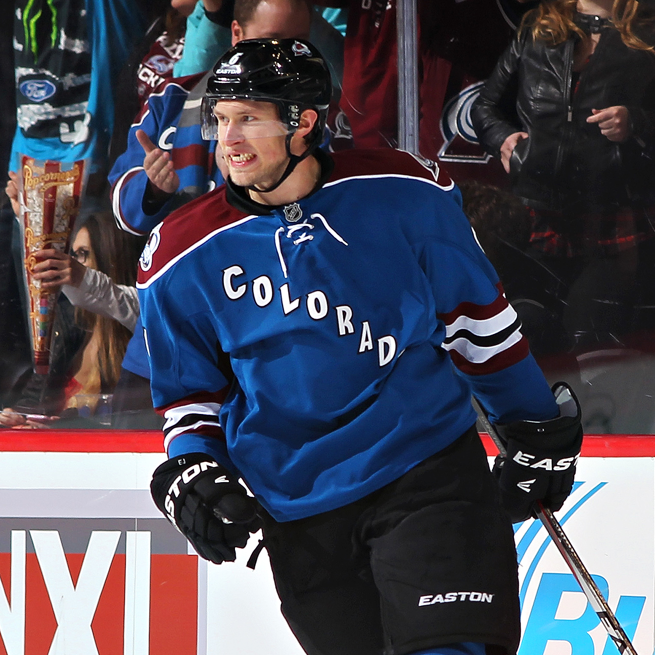 Avalanche's Johnson Breaks Leg, Out 6-8 Weeks