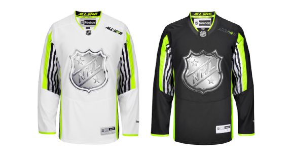 2015 NHL All-Star Game: Neon A Questionable Addition To All-Star Uniforms