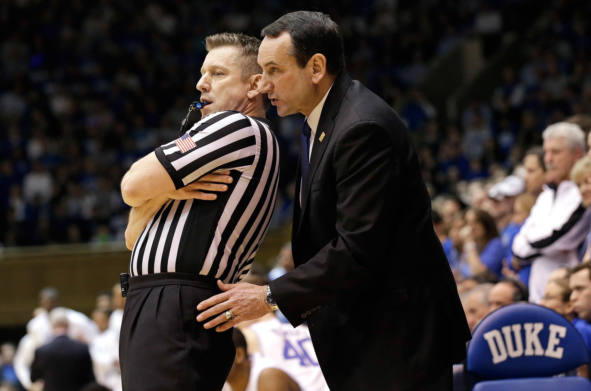 Let's Talk About This - Duke coach Mike Krzyzewski through ...