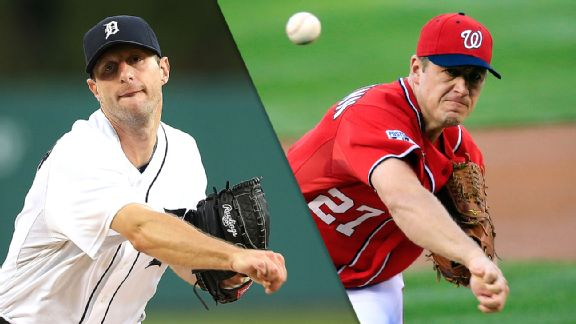 Max Scherzer and Jordan Zimmermann
