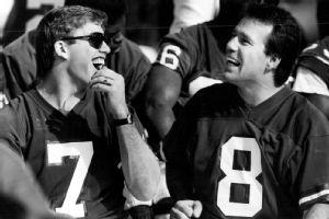 John Elway and Gary Kubiak