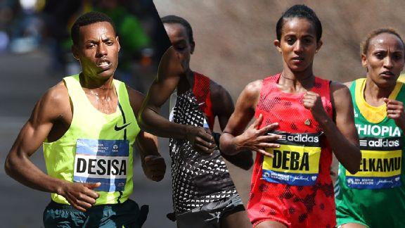 Lelisa Desisa, Buzunesh Deba