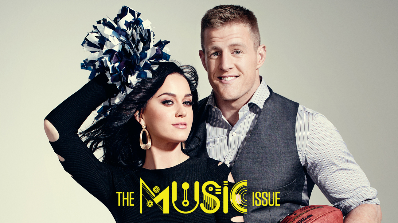 Behind the Scenes with Katy Perry and J J Watt