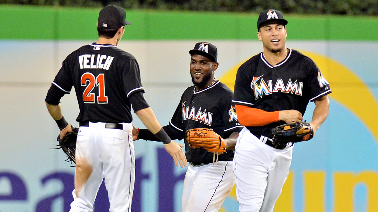 Marlins Outfielders