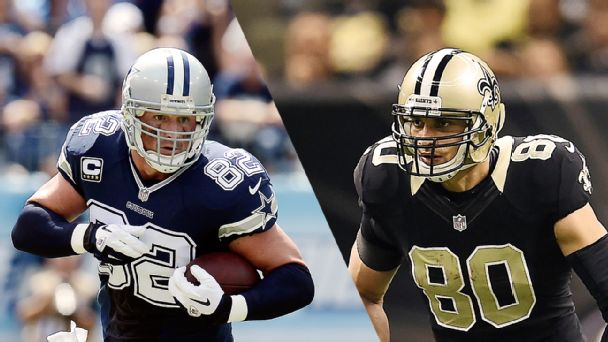 Jason Witten, Jimmy Graham