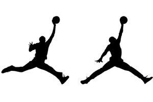 Michael Jordan silhouette