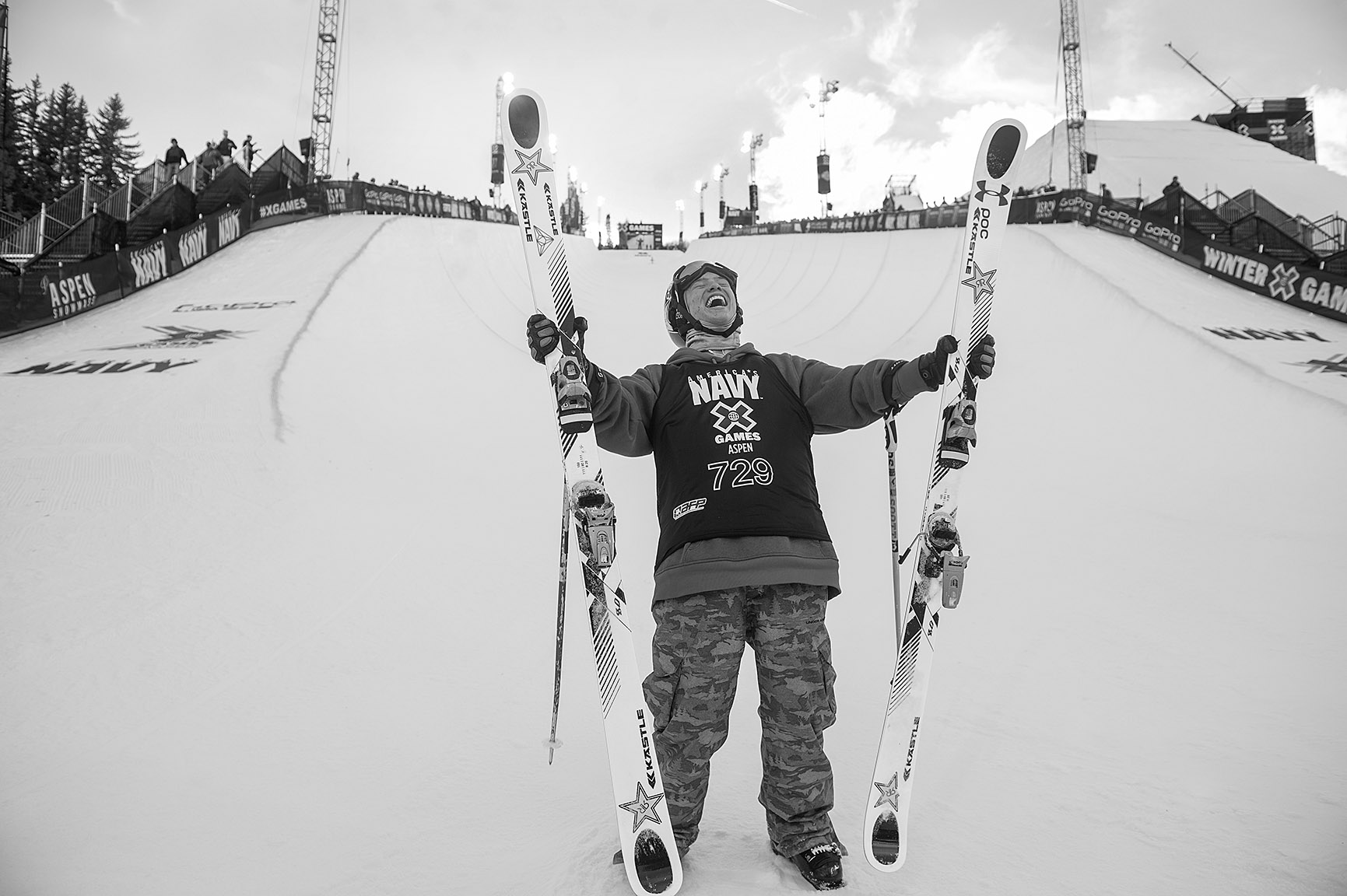 Men's Ski Pipe: Alex Ferreira