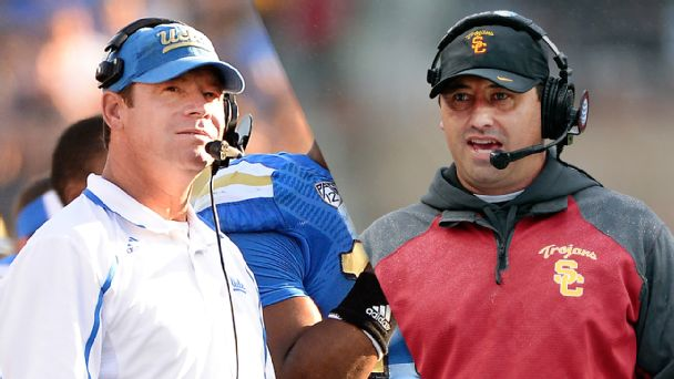 Jim Mora Jr. and Steve Sarkisian