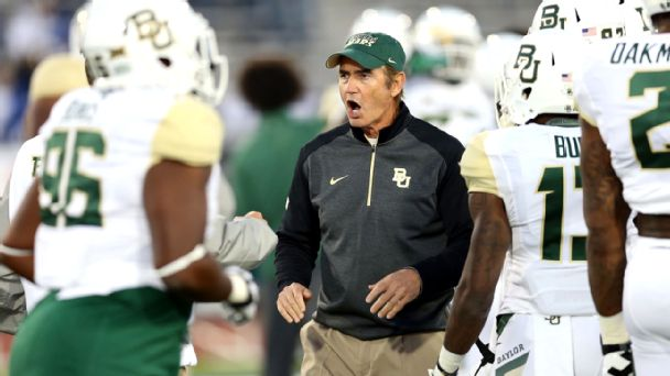 Watch live: Baylor, SMU trade quick-strike TDs