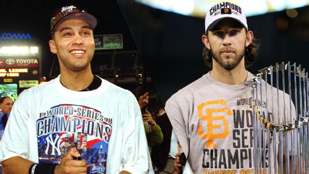 Derek Jeter and Madison Bumgarner