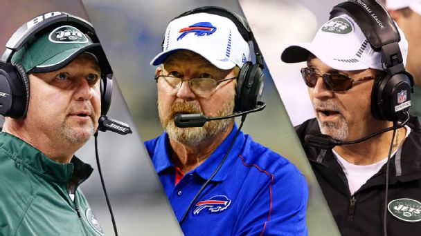 Marty Mornhinweg, Chan Gailey, Tony Sparano