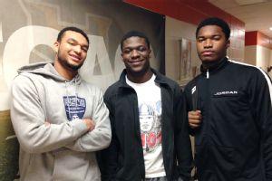 Christian Bell, Bradrick Shaw, Justin Johnson