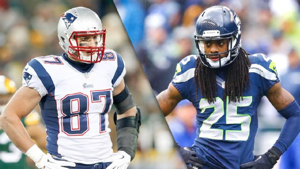 Rob Gronkowski and Richard Sherman