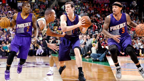 Eric Bledsoe, Goran Dragic, Isaiah Thomas, Phoenix Suns