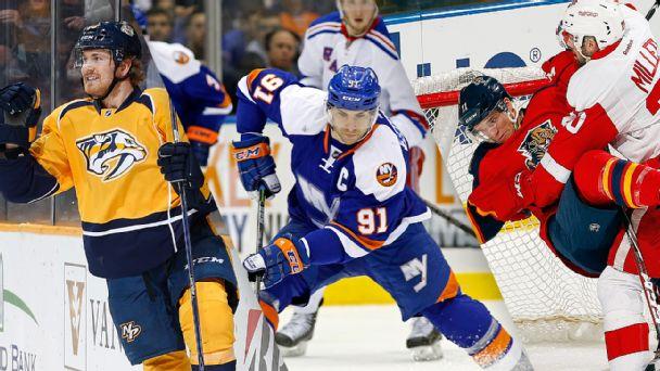 Predators, Islanders and Panthers