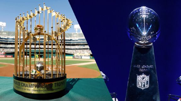 World Series trophy, Vince Lombardi Trophy