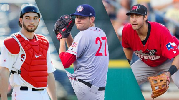 Blake Swihart, Lucas Giolito and Joey Gallo