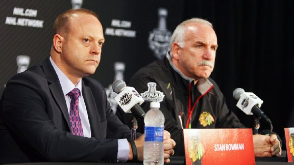Stan Bowman and Joel Quenneville