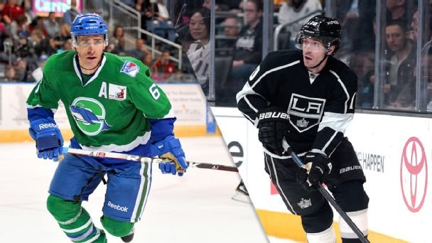 Wade Redden and Mike Richards