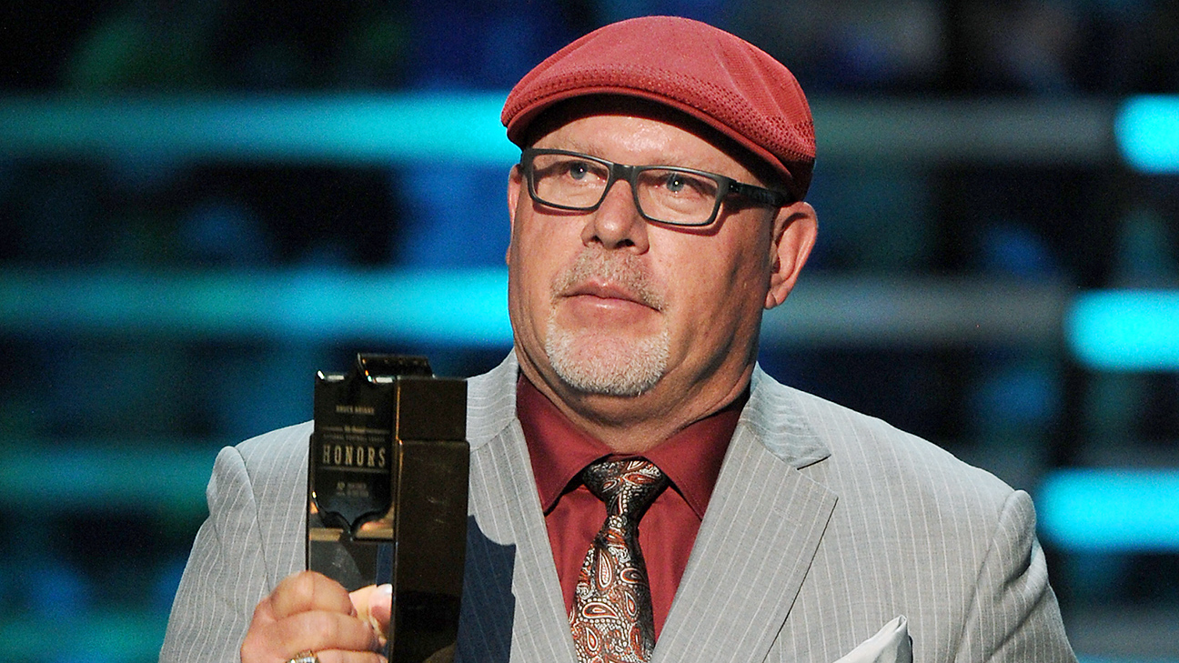 Bruce Arians Of Arizona Cardinals Wins NFLs Coach Of The Year Award For Second Time ESPN