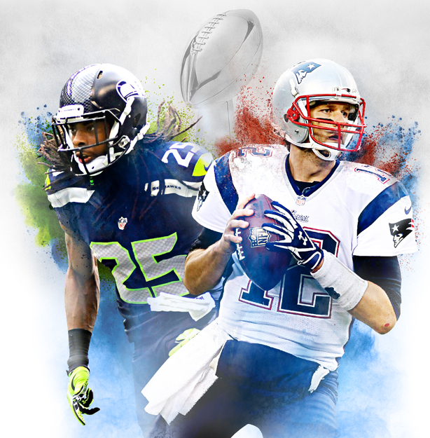 Super Bowl XLIX Illustration