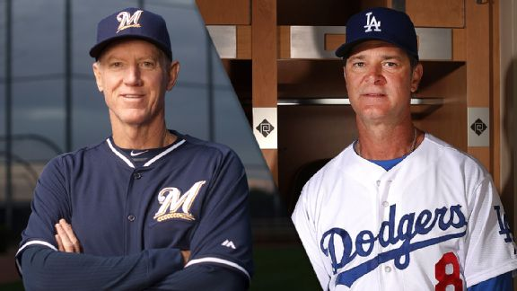 Ron Roenicke and Don Mattingly