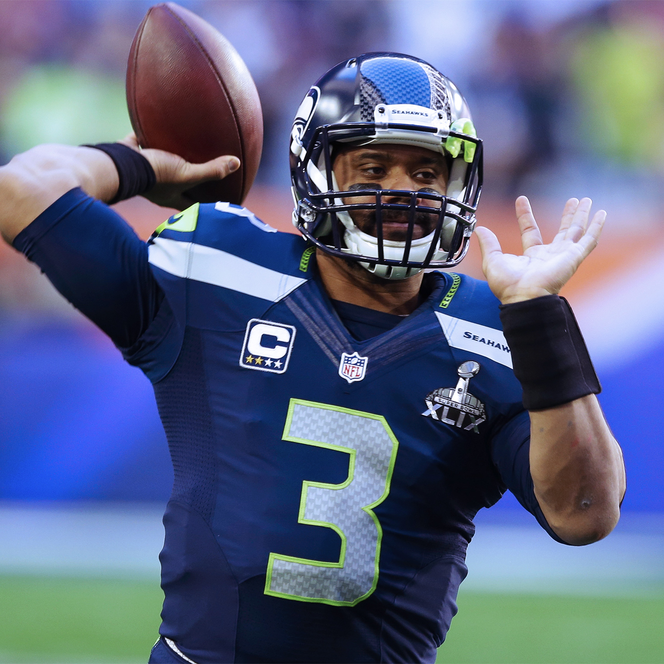 NFL Nation TV wonders if Russell Wilson should be league's high…
