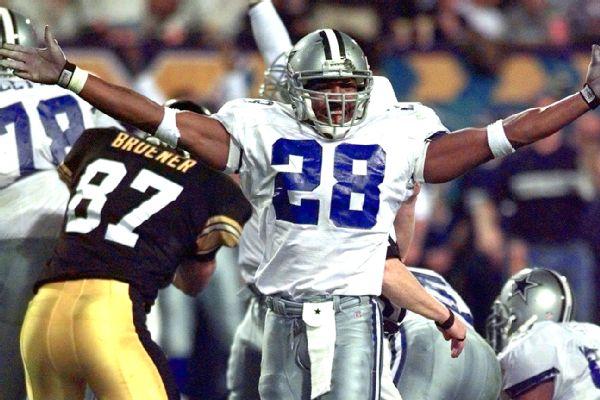 AP Photo/Amy Sancetta Darren Woodson could be the next Cowboys player ...