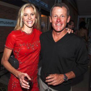 Anna Hansen and Lance Armstrong