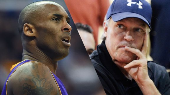 Kobe Bryant and Jim Buss