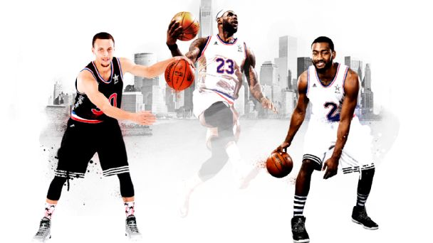 NBA All-Star Illustration