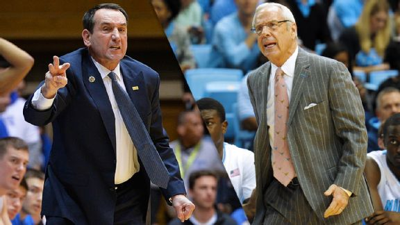 Coach K, Roy Williams
