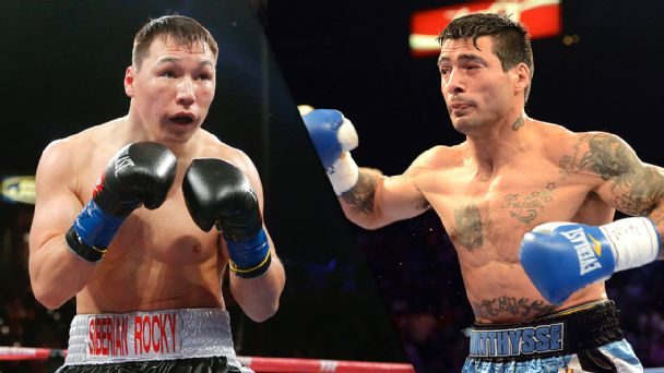 Ruslan Provodnikov and Lucas Matthysse