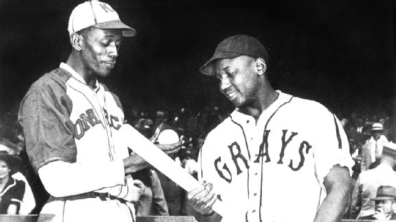 Satchel Paige and Josh Gibson