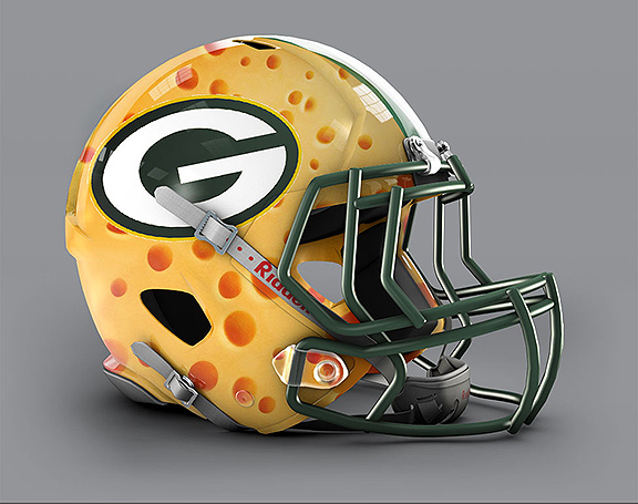 Check out more awesome unofficial alternate nfl helmets for New check designs