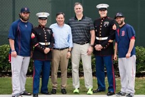 Red Sox & Marines