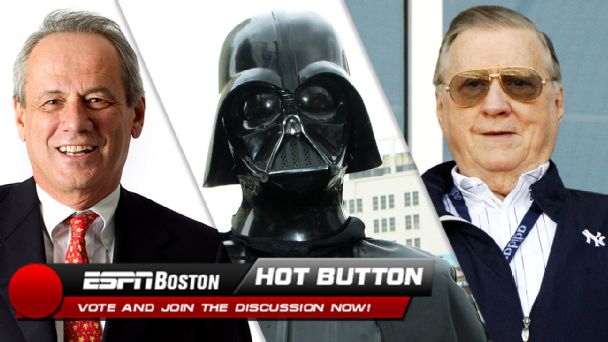 Larry Lucchino, Darth Vader, George Steinbrenner
