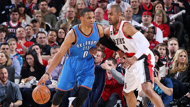 Russell Westbrook, Arron Afflalo