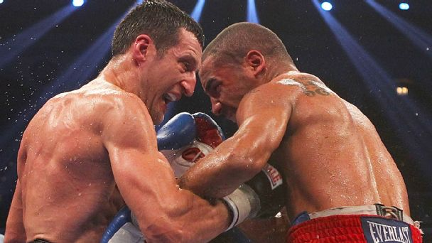 Andre Ward and Carl Froch