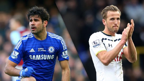 Diego Costa and Harry Kane