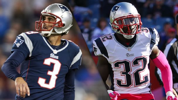 Stephen Gostkowski and Devin McCourty