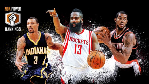 George Hill, James Harden & LaMarcus Aldridge