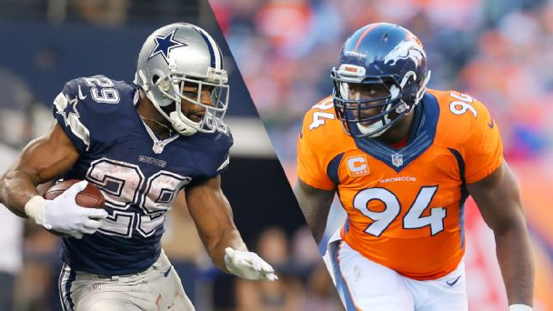 DeMarco Murray and DeMarcus Ware