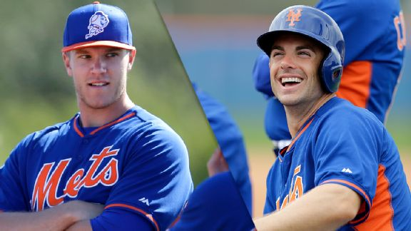 Noah Syndergaard and David Wright