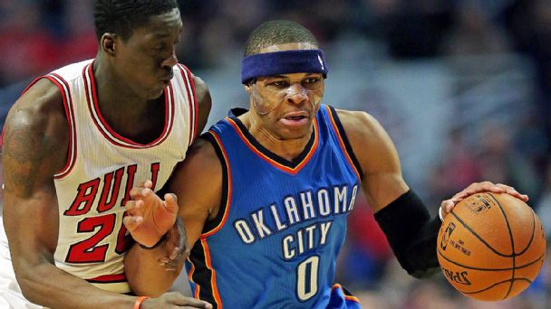 Russell Westbrook, Tony Snell
