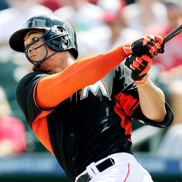 Giancarlo Stanton: Giancarlo Stanton Of Miami Marlins Pleased With First At-bats