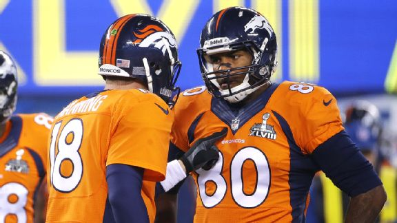 Peyton Manning and Julius Thomas