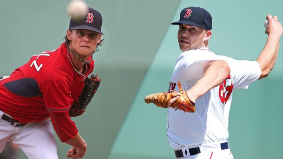 Clay Buchholz and  Justin Masterson
