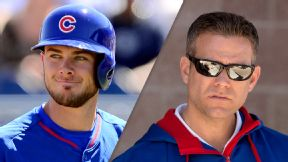 Kris Bryant and Theo Epstein