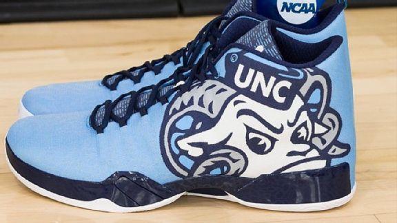UNC basketball shoes